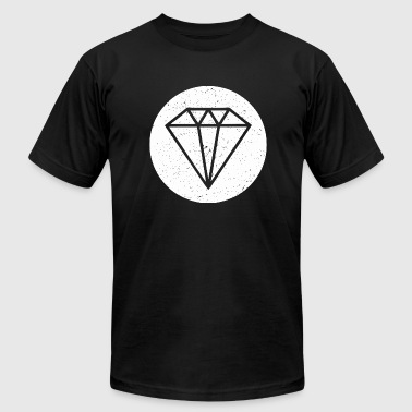 Diamond - Diamond - Men's Fine Jersey T-Shirt