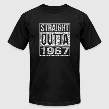1967 - Straight Outta 1967 50th birthday - Men's Fine Jersey T-Shirt