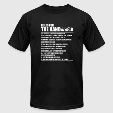 Engineer - Audio Engineer Rules For The Band For - Men's Fine Jersey T-Shirt
