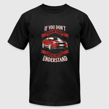 1968 Ford Mustang Own one red Shelby mustang - You never understan - Men's Fine Jersey T-Shirt