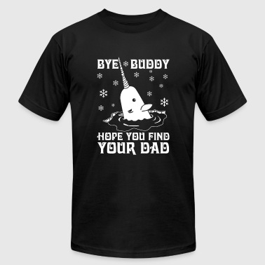 Elf - Bye buddy hope you find your dad - Men's Fine Jersey T-Shirt