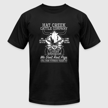 Hat creek cattle company - Men's Fine Jersey T-Shirt