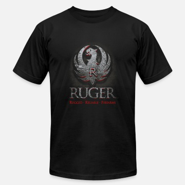 Reliability Ruger - Rugged reliable firearms awesome t-shirt - Men's Fine Jersey T-Shirt