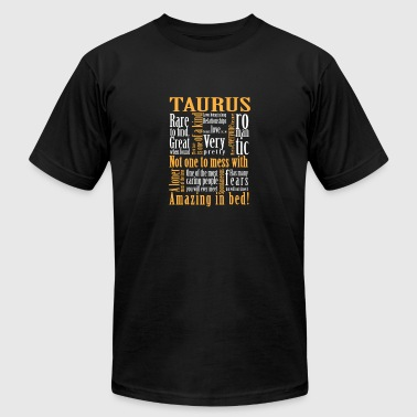 Zodiac Capricorn Clothes Taurus - Not one to mess with. Amazing in bed - Men's Fine Jersey T-Shirt