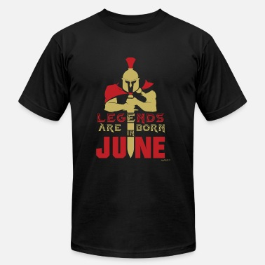 Borned June June - Legends are born in June! - Men's Fine Jersey T-Shirt