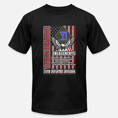 26th Infantry Division 26th infantry division - Yankee division US tee - Men's Fine Jersey T-Shirt
