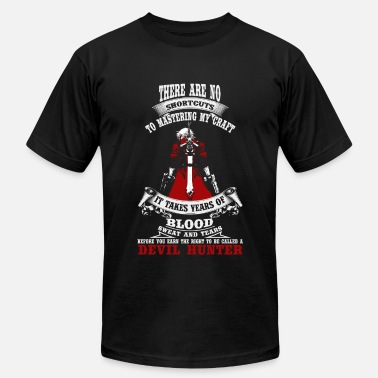 Devil Hunter Devil hunter - It takes years of blood sweat tea - Men's Fine Jersey T-Shirt
