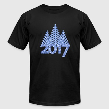 2017-christmas tree-new-year-christmas - Men's Fine Jersey T-Shirt