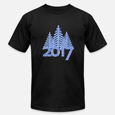 2017 2017-christmas tree-new-year-christmas - Men's Fine Jersey T-Shirt