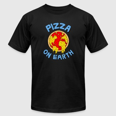 Pizza On Earth - Men's Fine Jersey T-Shirt