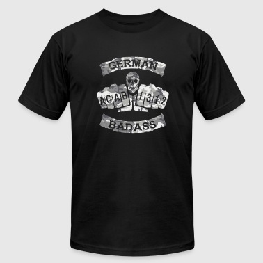 German Badass Fussball Tattoo army 2 - Men's Fine Jersey T-Shirt