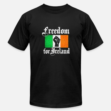 Free Ireland freedom for ireland - Men's Fine Jersey T-Shirt