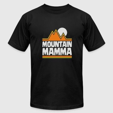 Mountain Mamma - Men's Fine Jersey T-Shirt