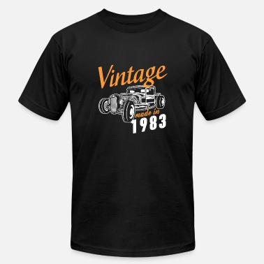 1983 Bday Vintage made in 1983 - Men's Fine Jersey T-Shirt