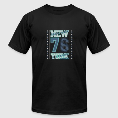 Bklyn NY 76 - Men's Fine Jersey T-Shirt