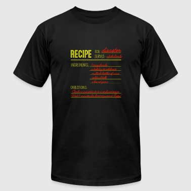 Recipe for Disaster - Men's Fine Jersey T-Shirt