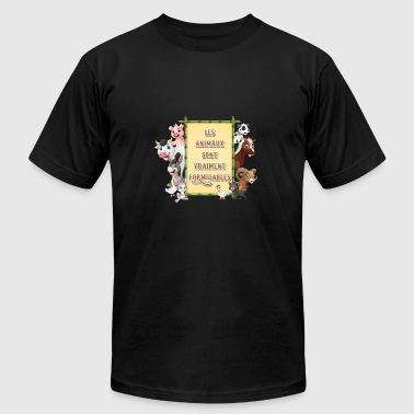 Great Anime The animals are really great - Men's Fine Jersey T-Shirt