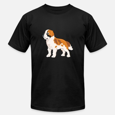 Saint Bernard Dog St. Saint Bernard Dog - Men's  Jersey T-Shirt