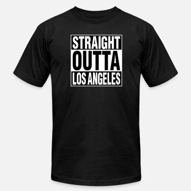 Straight Outta Los Angeles Straight Outta LA - Men's  Jersey T-Shirt