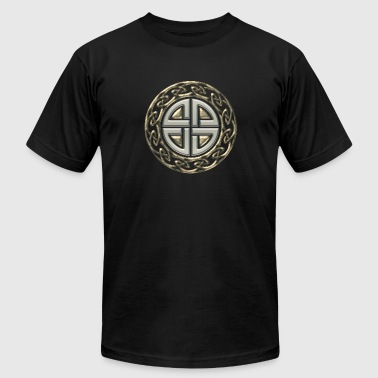 Symbol Warriors Germanic Celtic shield knot, Protection Amulet, Germanic,  - Men's Fine Jersey T-Shirt