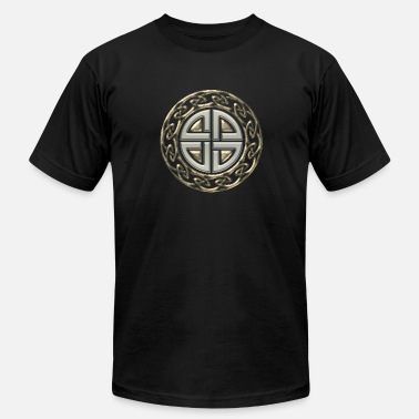 Symbol Warriors Germanic Celtic shield knot, Protection Amulet, Germanic,  - Men's  Jersey T-Shirt