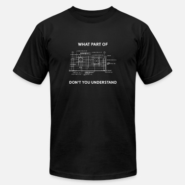 Funny Civil Engineer Funny Architectural Civil Engineering Engineer - Men's  Jersey T-Shirt