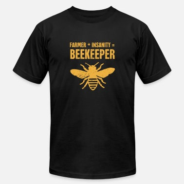 Funny Bee Funny Bee Keeper Design - Men's Fine Jersey T-Shirt
