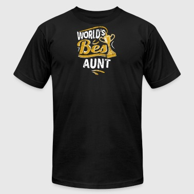 World's Best Aunt - Men's Fine Jersey T-Shirt