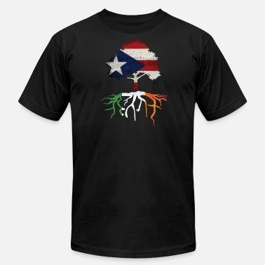 e7b344bde40 Puerto Rican Rico Irish Ireland Rotos - Men's Jersey T-Shirt