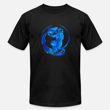 Aquarius Astrology Aquarius Astrological Sign Shirt - Men's Fine Jersey T-Shirt