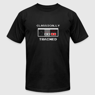 Basic Training Classically Trained - Gaming - Total Basics - Men's Fine Jersey T-Shirt