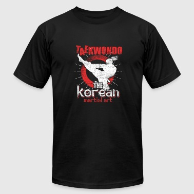 Korean Martial Arts Taekwondo Korean martial art - Men's Fine Jersey T-Shirt