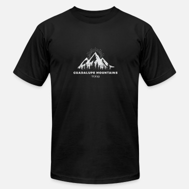 Guadalupe Guadalupe Mountains National Park - Men's Fine Jersey T-Shirt