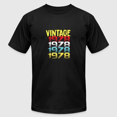 Built In 1978 Vintage since 1978 gift - Men's Fine Jersey T-Shirt