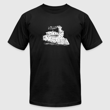 Trains - Men's Fine Jersey T-Shirt