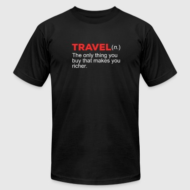 Travel - Men's Fine Jersey T-Shirt