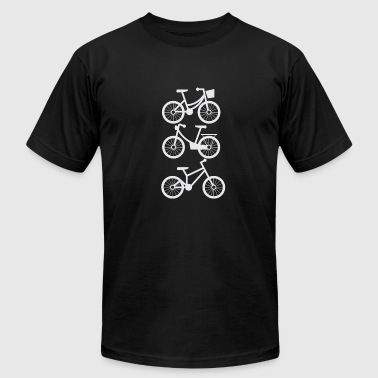 Fun Bicycles Bicycling is fun! - Men's Fine Jersey T-Shirt