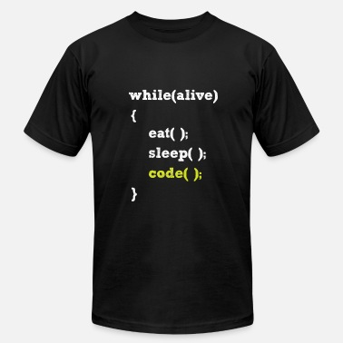 f665e970c Funny Programming A programmer Life - Men's Jersey T-Shirt