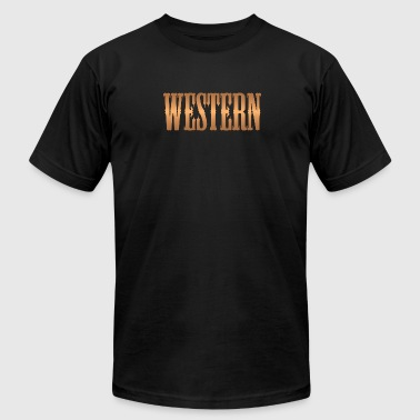 western copper - Men's Fine Jersey T-Shirt