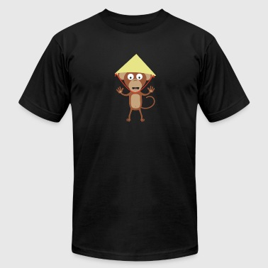 Vietnamese monkey - Men's Fine Jersey T-Shirt