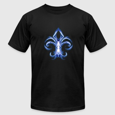 White Lies Blue Fleur De Lis - Men's Fine Jersey T-Shirt