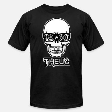 4xl Geek THEUG SKULL - Men's Fine Jersey T-Shirt