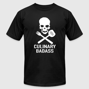 Badass Funny Cartoon New Culinary Badass - Men's Fine Jersey T-Shirt