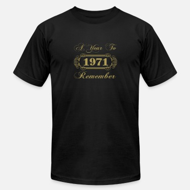 1971 1971 A Year To Remember - Men's Fine Jersey T-Shirt