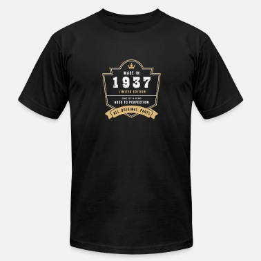 1937 All Original Parts Made In 1937 Limited Edition All Original Parts - Men's Fine Jersey T-Shirt