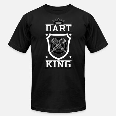 Dart Logo Dart King - Men's Fine Jersey T-Shirt