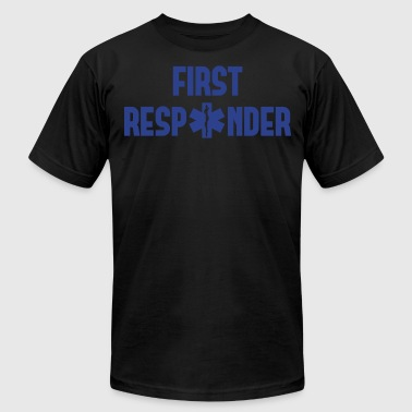 first responder - Men's Fine Jersey T-Shirt