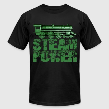 Steam Power #1A Steam Engine T-Shirt - Men's Fine Jersey T-Shirt