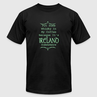 Irish Whiskey - Men's Fine Jersey T-Shirt