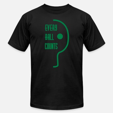Table Tennis Every Ball Counts table tennis: every ball counts - Men's Jersey T-Shirt